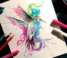 92- Hummingbird by Lucky978