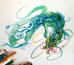 113- Chinese Dragon