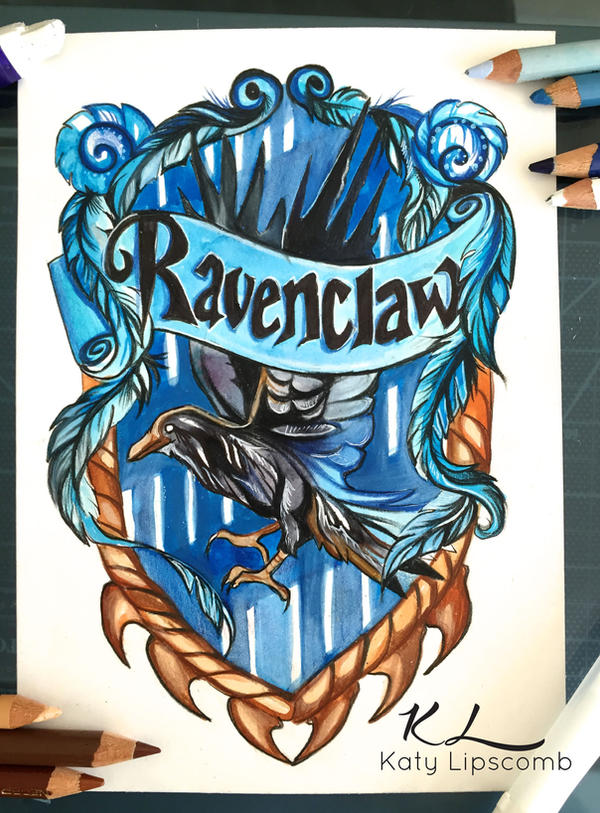 128 ravenclaw by lucky978 on deviantart for Tattoo shops katy texas
