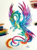 132- Hummingbird Dragon by Lucky978