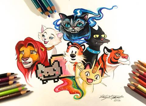 137- My Favorite Felines