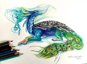 144- Peacock Dragon