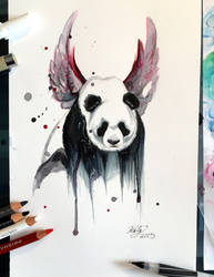 152- Disappearing Panda by Lucky978