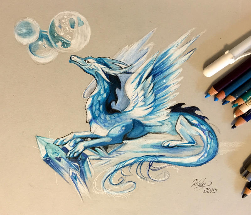 168- Ice Dragon by Lucky978 on DeviantArt