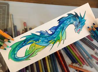 173- Sea Serpent Design