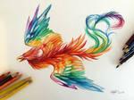 175- Rainbow Phoenix