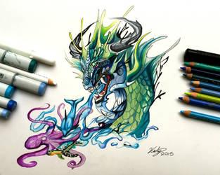 206- Ocean Dragon by Lucky978