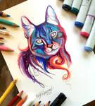 223- Galaxy Cat