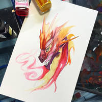 236- Sun Dragon by Lucky978