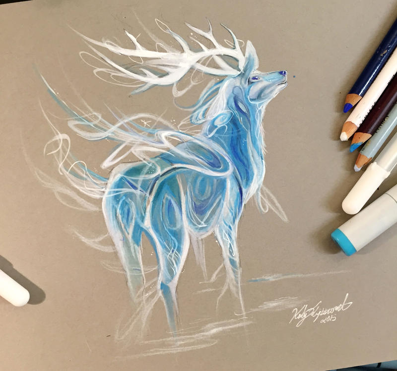 239- Stag Patronus by Lucky978