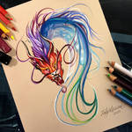 246- Colorful Chinese Dragon Design