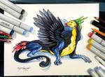 258- Toucan Dragon