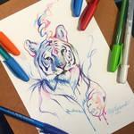 278- Pen Tiger