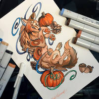 279- Pumpkin Spice (Colored) by Lucky978