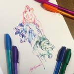 282- Pen Wolf Trio