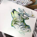 285- Forest Stag