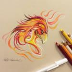 286- Phoenix Head