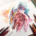 297- Halloween Dragon