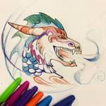 302- Dragon Pen Sketch