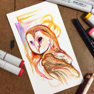 312- Fall Owl