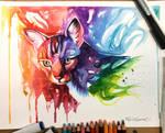 323-Rainbow Kitty Commission