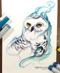 326- Snowy Owl