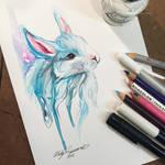 348- Winter Bunny