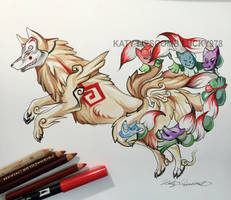 352- Ninetails by Lucky978