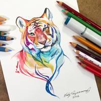 Sparkly Tiger