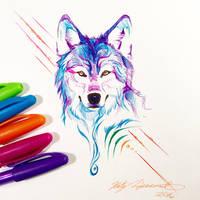 Howl Pen Doodle II by Lucky978