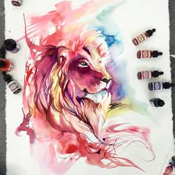 Lion Splash