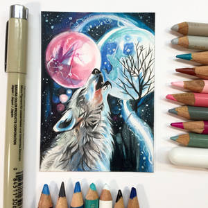 Magic Howl ACEO