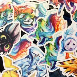 Vinyl Stickers!