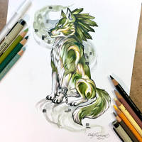 Wolf Link by Lucky978
