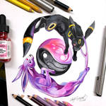 13- Umbreon and Espeon