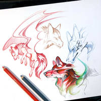 28- Sketches by Lucky978