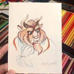 34- Beast Sketch