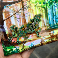 Plant Wolf Pin by Lucky978