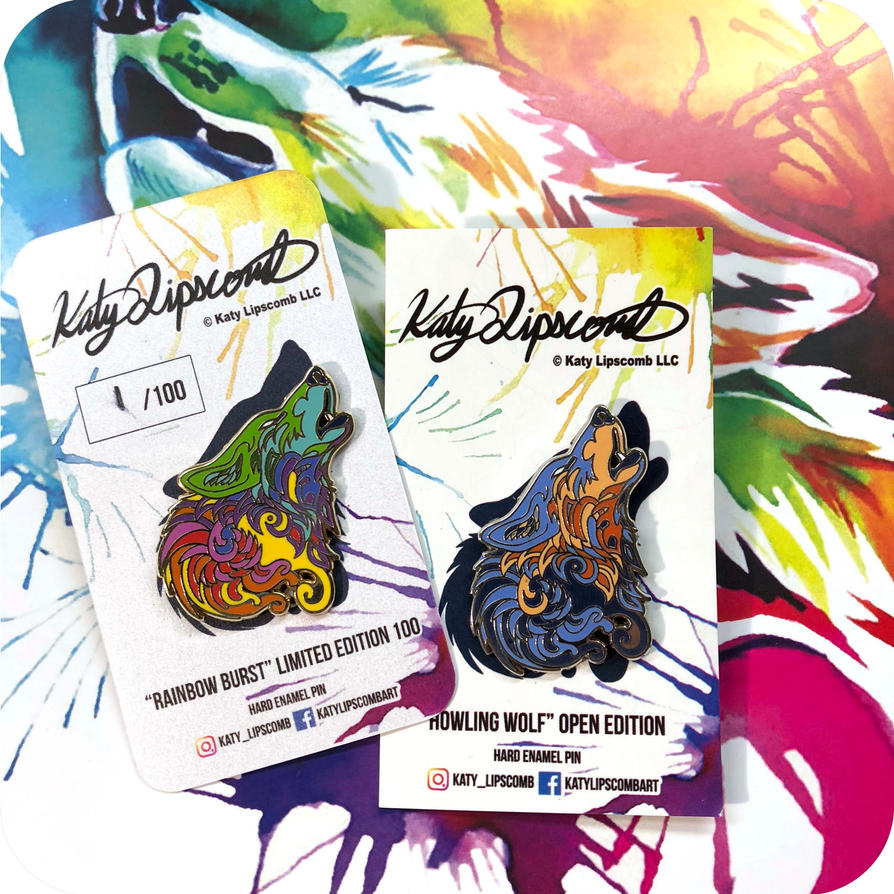 Katy Lipscomb LLC is creating Collectable Enamel Artist Pins