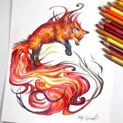 Fire Fox by Lucky978