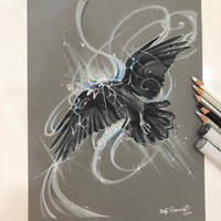 Spirit Raven by Lucky978