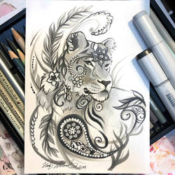Paisley Lioness