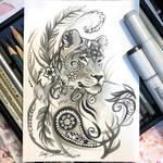 Paisley Lioness