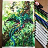 Day 9: Quetzal Dragon
