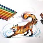 Day 10: Stretchy Fox