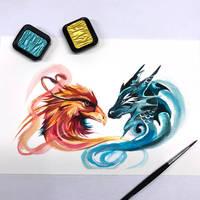 Day 45: Dragon and Phoenix