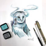 Day 51: Crystal (Infected) Owl