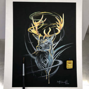Day 52: Sparkle Stag