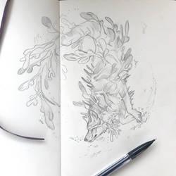 Day 134: Leafy Sea Dragon Wolf