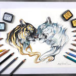 Day 140: Duality Tigers